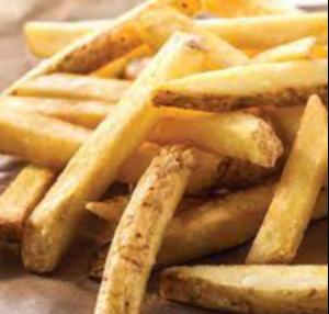 Fresh cut French Fries